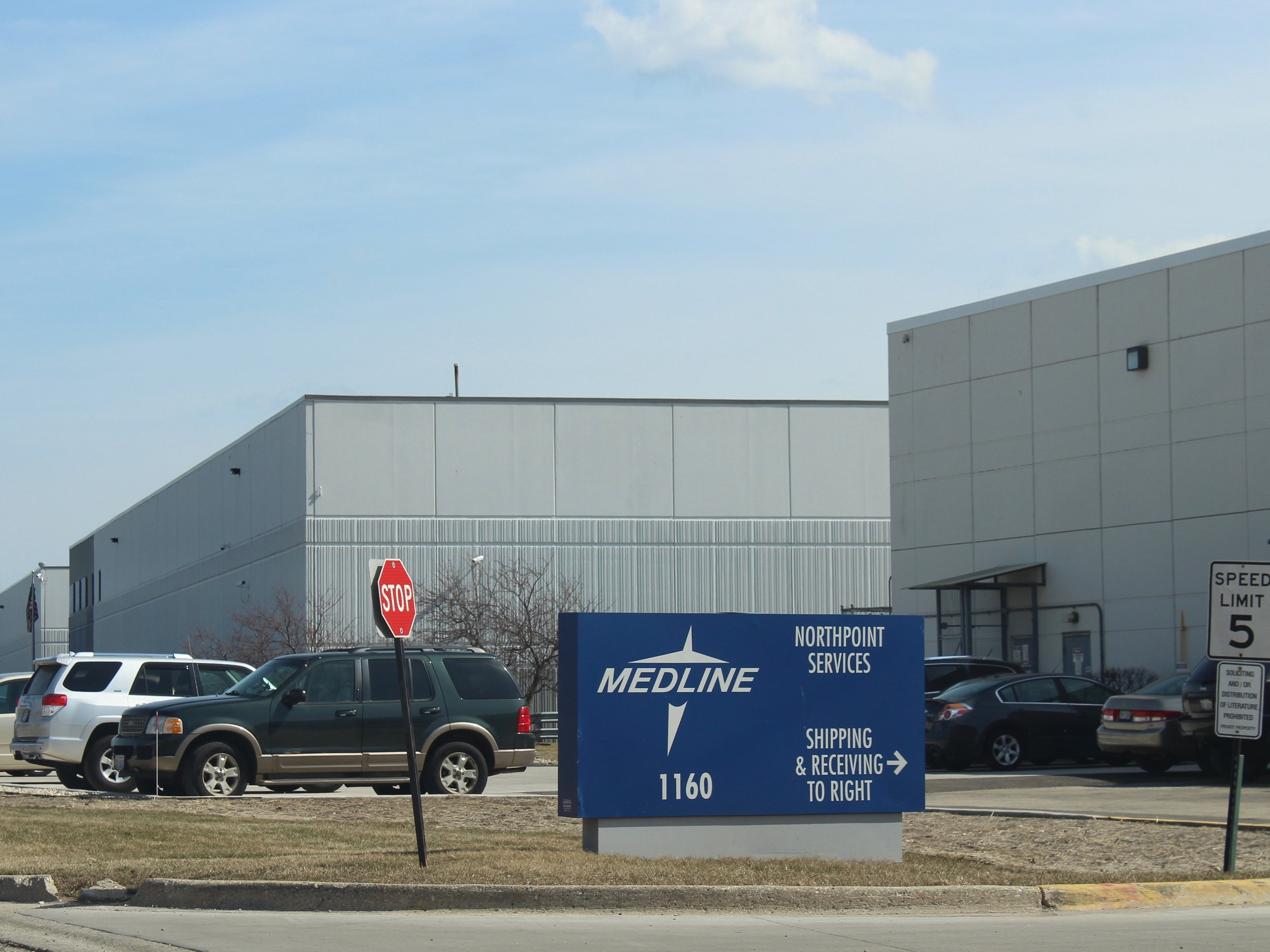 The Lake County Health Department found a spike in EtO readings near Medline Industries in Waukegan, releasing the data even as Gov. Pritzker was signing new EtO regulations into law. (One Illinois/Ted Cox)