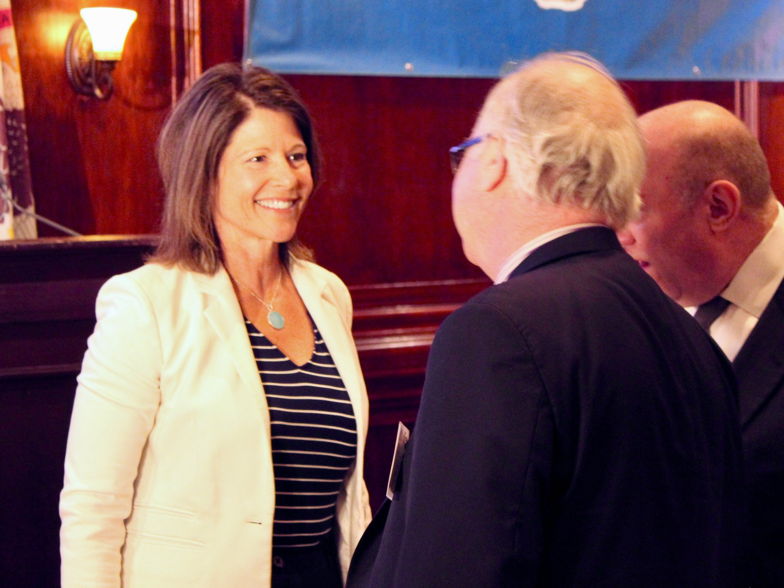 """""""The completion of a rail line from Moline to Chicago would help grow the local economy, create jobs, and connect folks from across our state with new opportunities."""" - U.S. Rep. Cheri Bustos (One Illinois/Ted Cox)"""