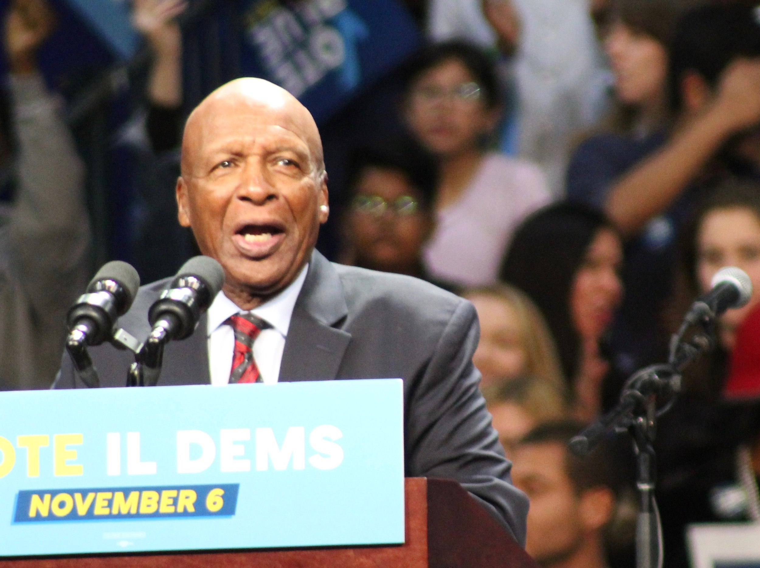 Secretary of State Jesse White says the state does not share information with federal agents for facial-recognition searches. (One Illinois/Ted Cox)