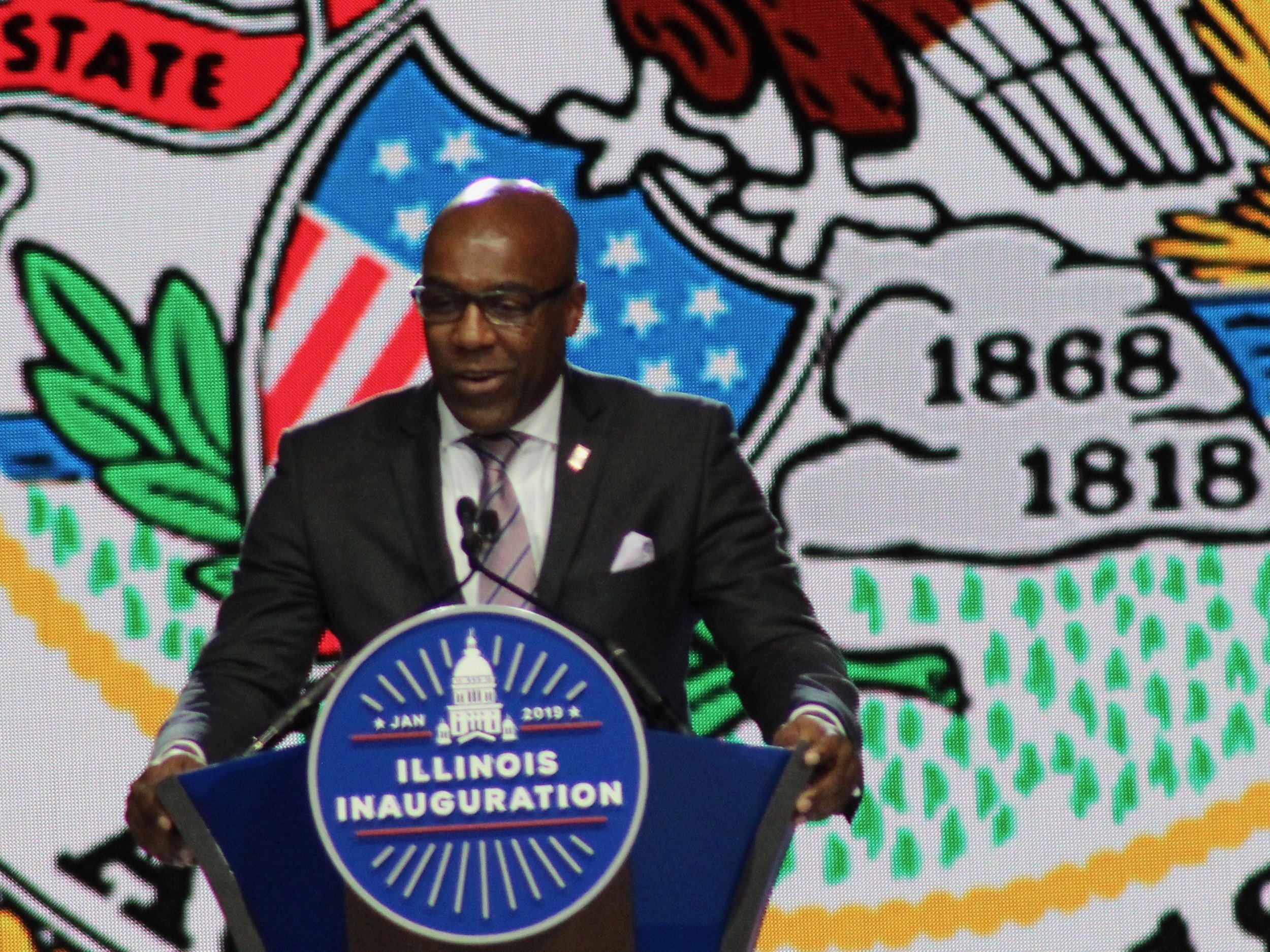 "Attorney General Kwame Raoul has filed suit against the Trump administration's attempt to implement a new ""public charge"" rule on immigrants. (One Illinois/Ted Cox)"
