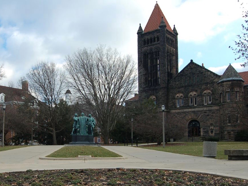 The University of Illinois at Urbana-Champaign again made the top 50 in U.S. News & World Report's annual college rankings. (Flickr/ilovebutter)