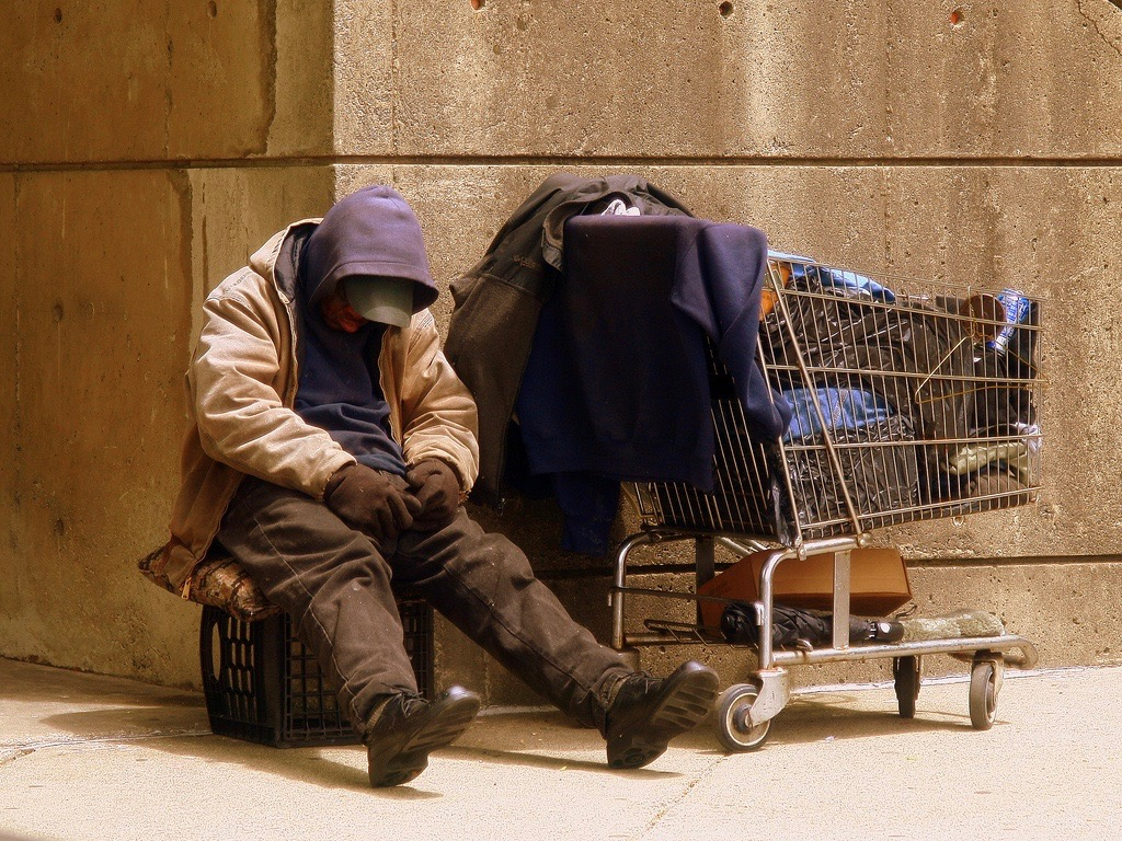 Across Illinois, African Americans are eight times more likely than whites to find themselves homeless. (Wikimedia Commons/Matthew Woitunski)