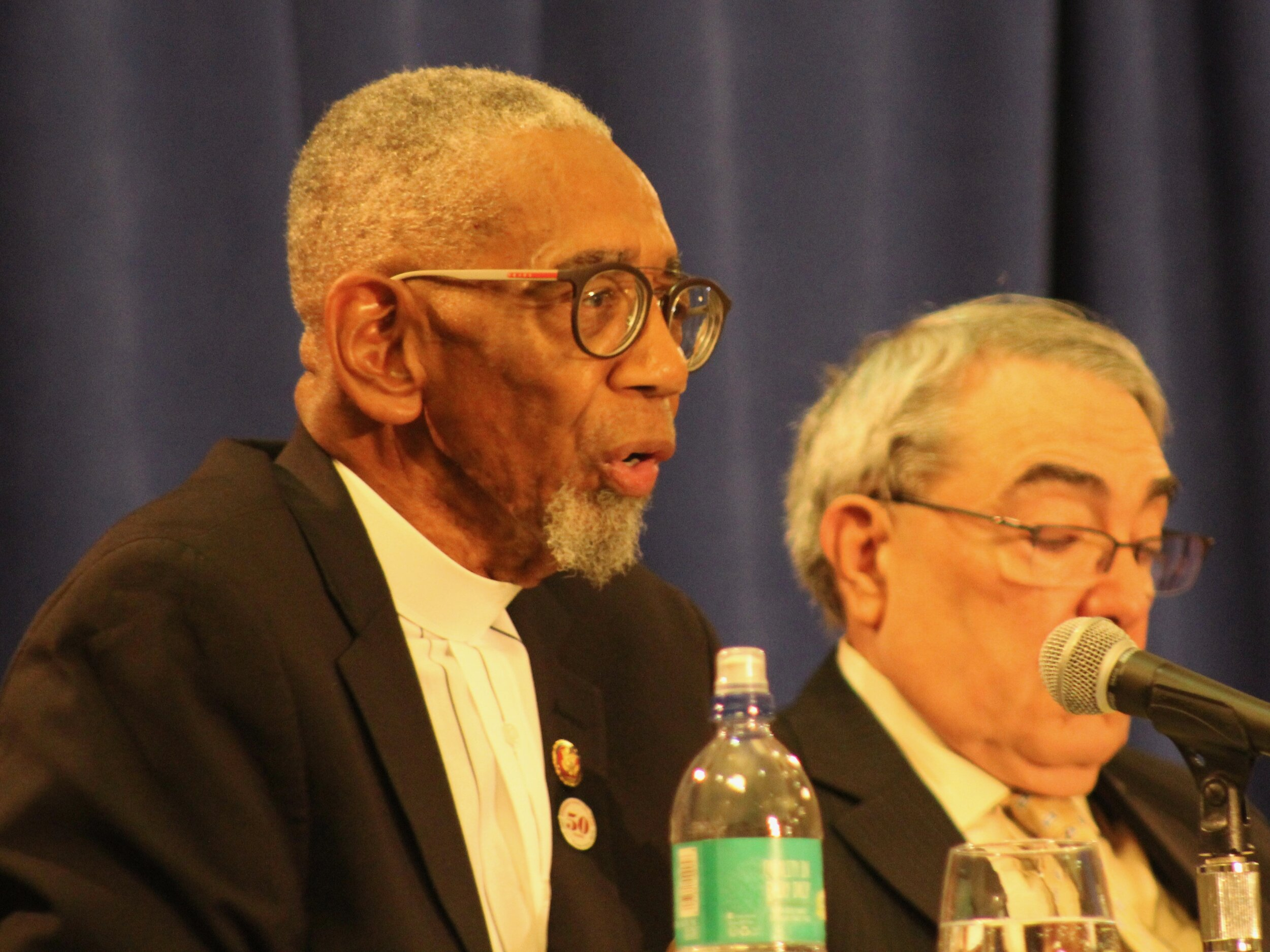 U.S. Rep. Bobby Rush, who lost a son to gun violence a decade ago, played host to Thursday's subcommittee meeting in his South Side congressional district in Chicago's Englewood neighborhood. (One Illinois/Ted Cox)