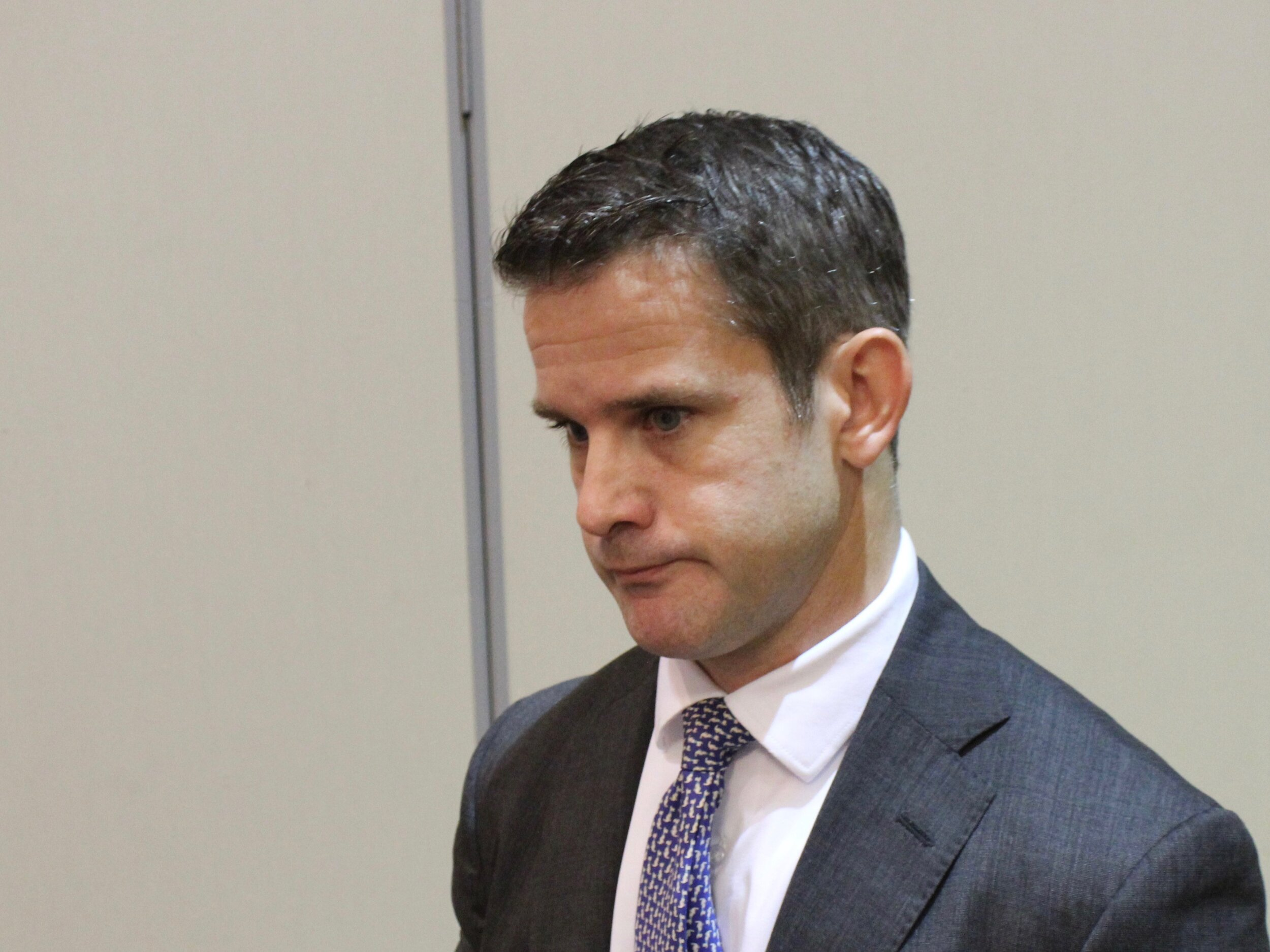 Congressman Adam Kinzinger says he still supports President Trump, just not everything he says or does. (One Illinois/Ted Cox)