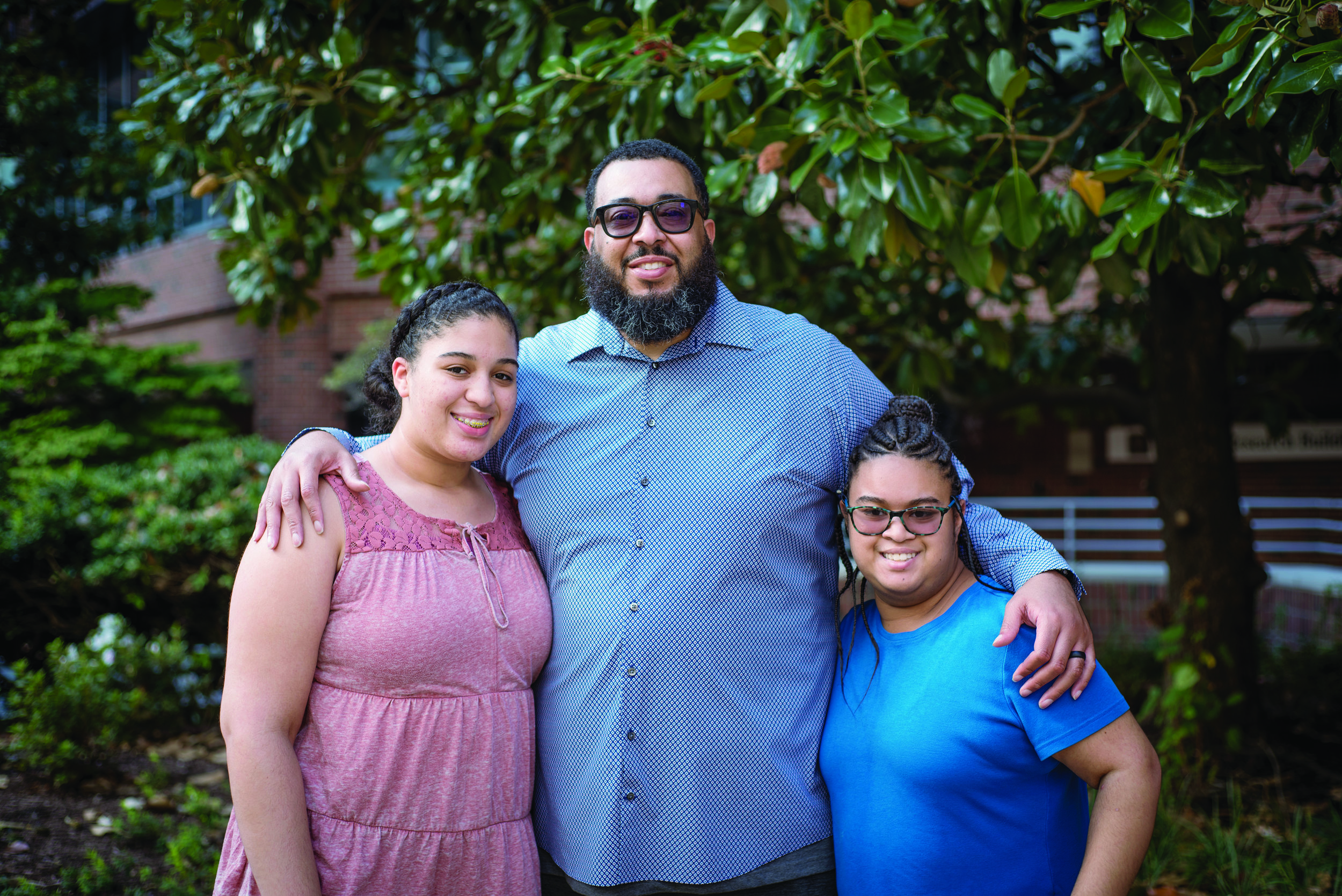 Maurice McAllister - Maurice McAllister's heart was failing him. Being there to raise his teen daughters helped him more easily make the decision to opt for an innovative option in heart transplant in Vanderbilt, and now he's helping educate others.