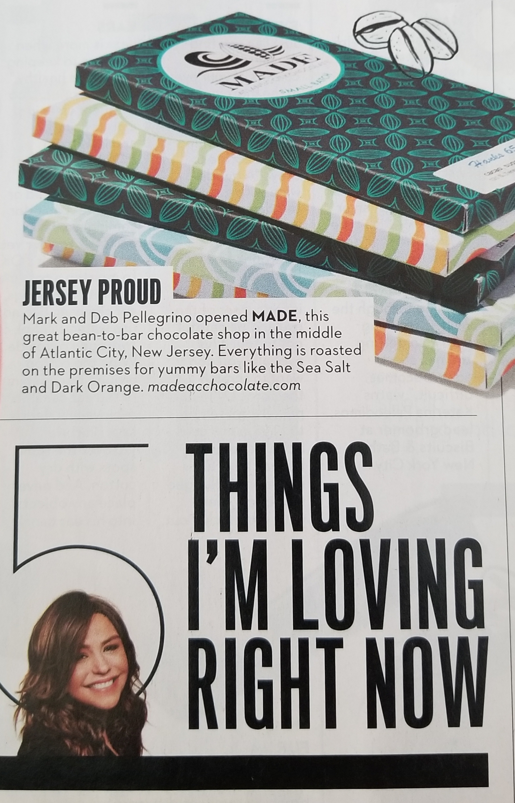 Proud for the shout out from Rachel Ray in her June 2019 magazine! -