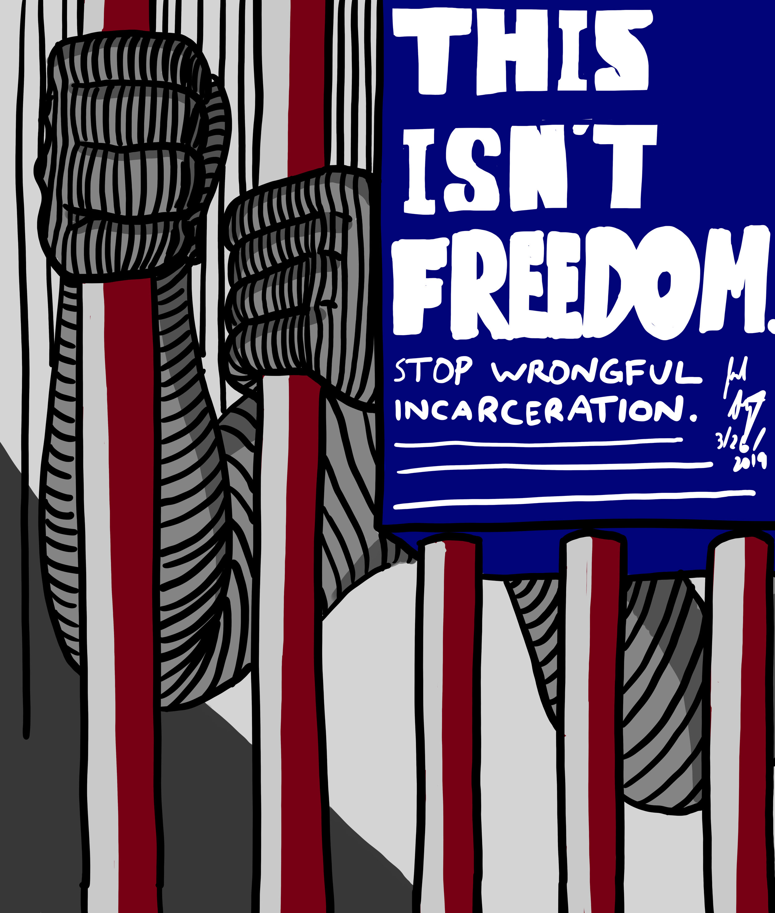 This Isn't Freedom   (on Redbubble)