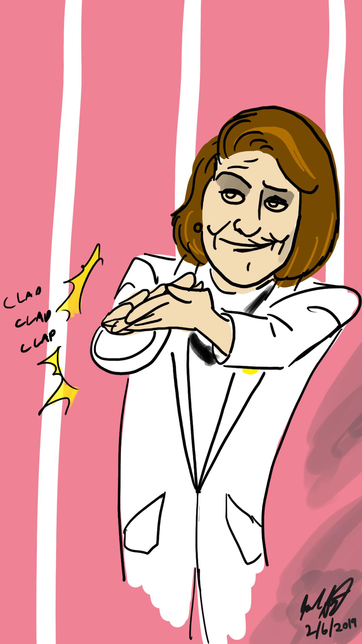 Pelosi's Clap Back