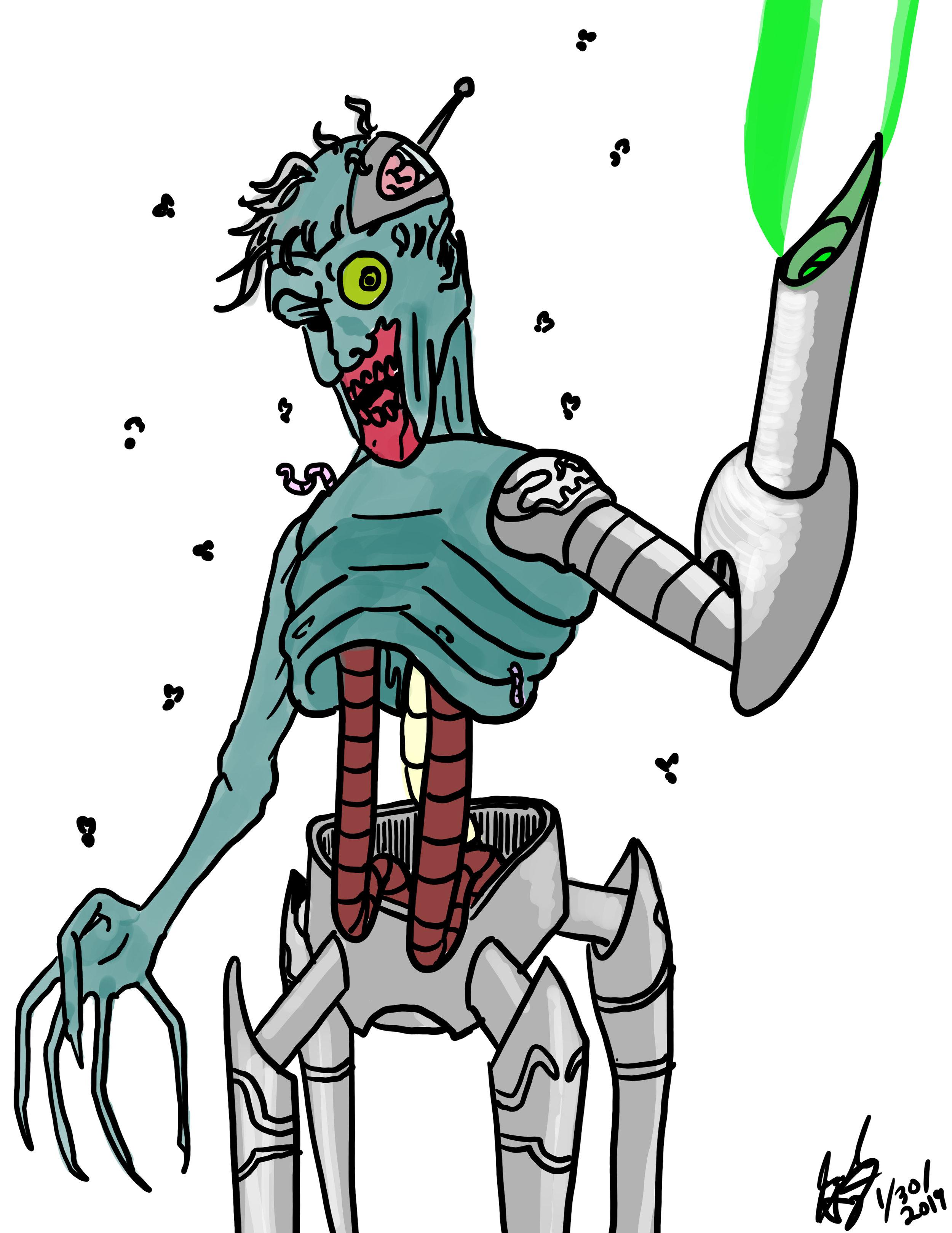 Robot Zombie.