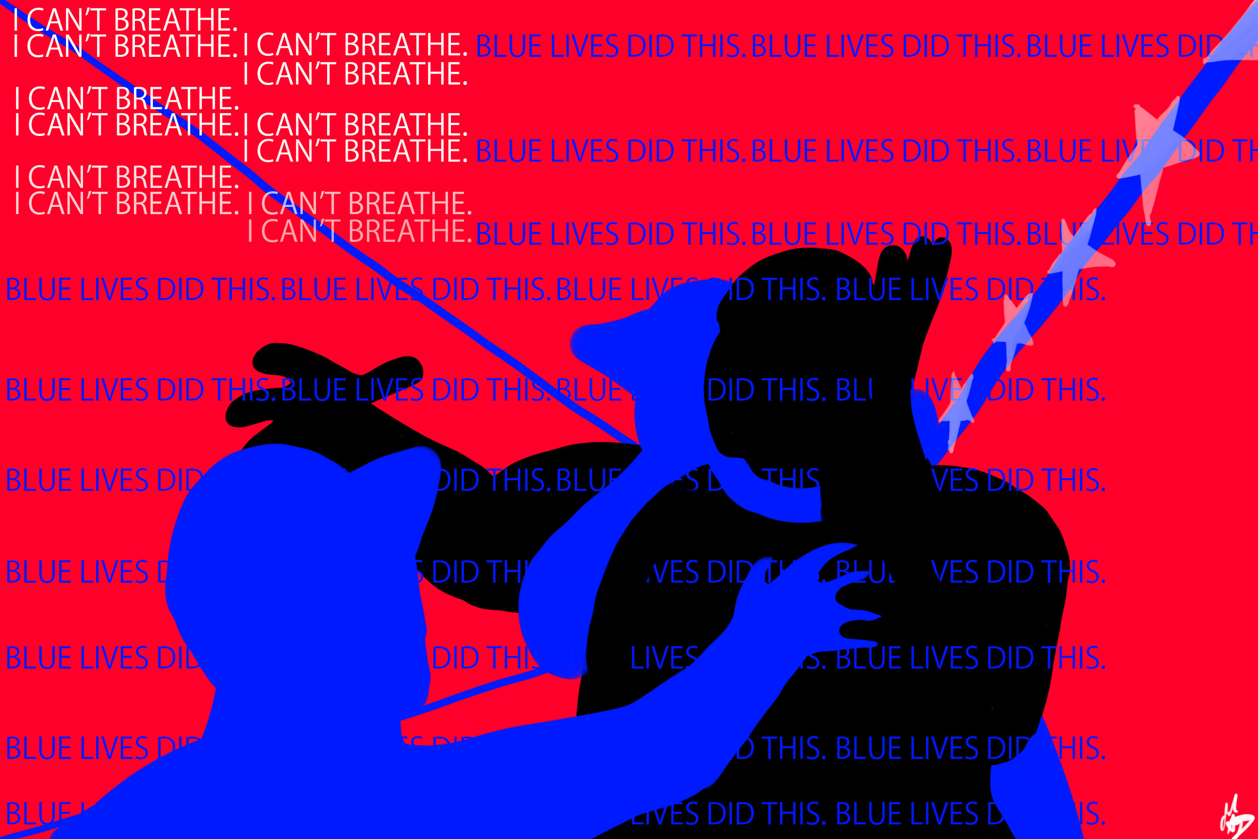Blue Lives Did This, to Eric Garner
