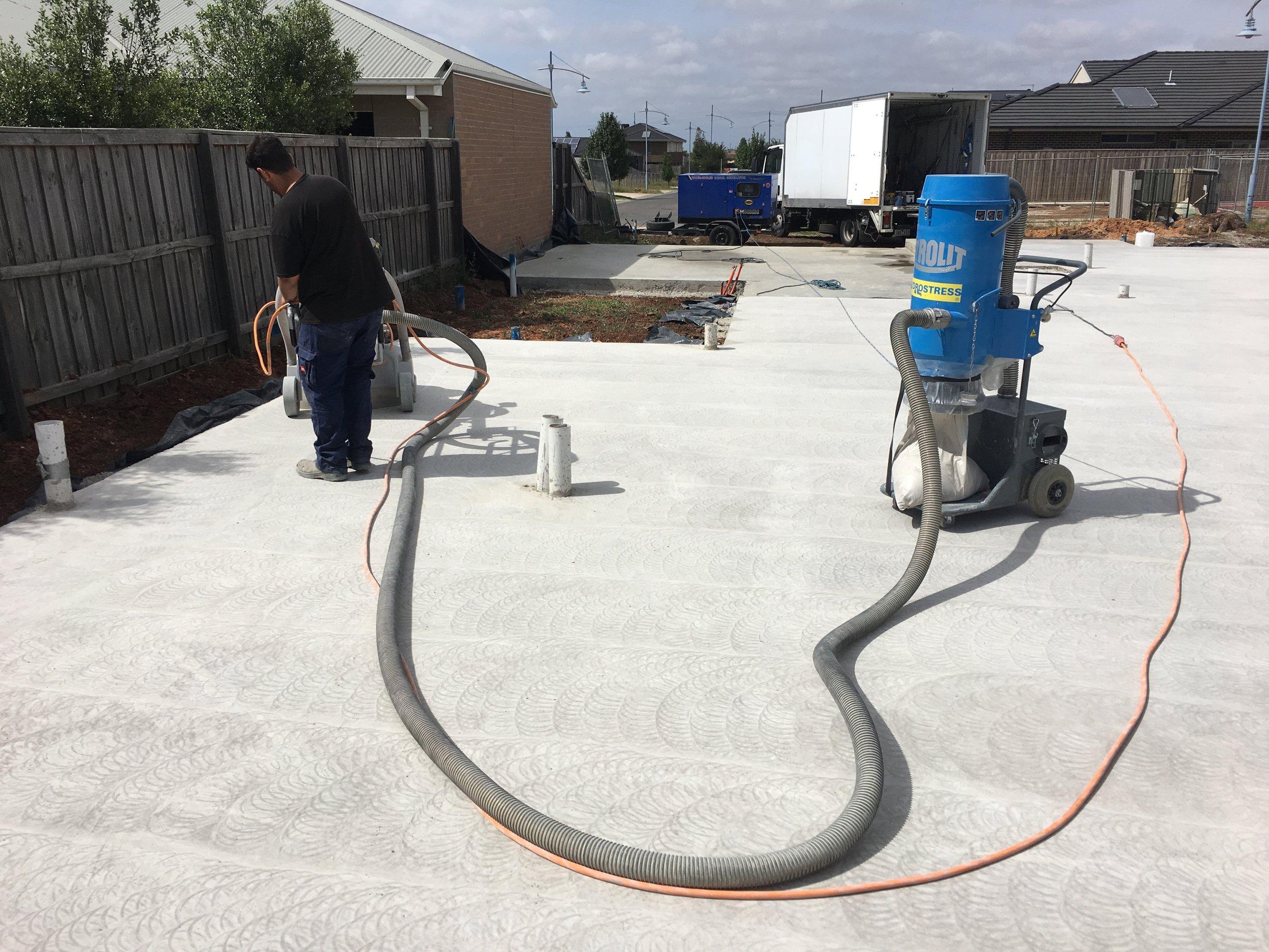 Concrete Polishing Slab Floor Preparation