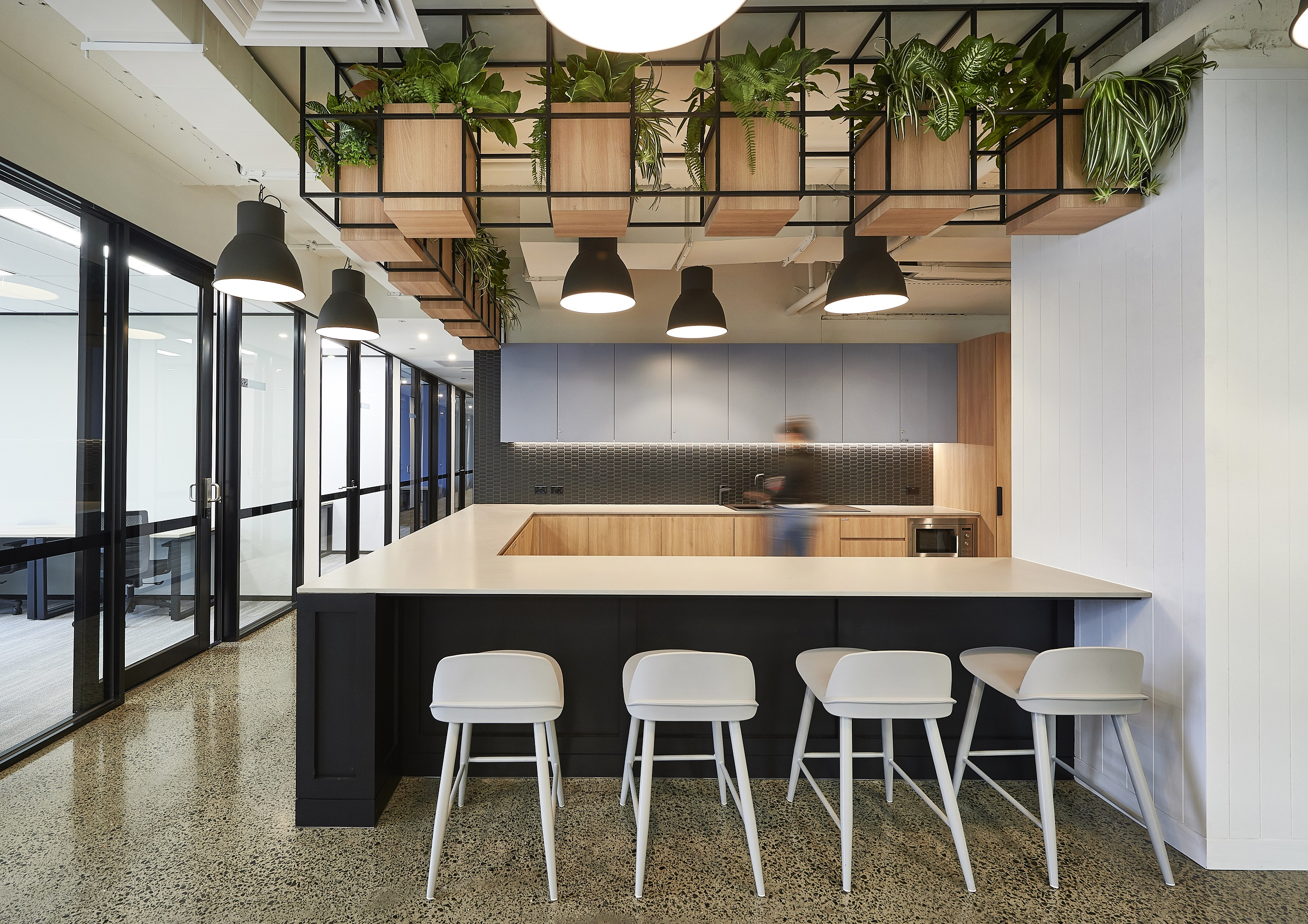 Polished Concrete Office Fit Out