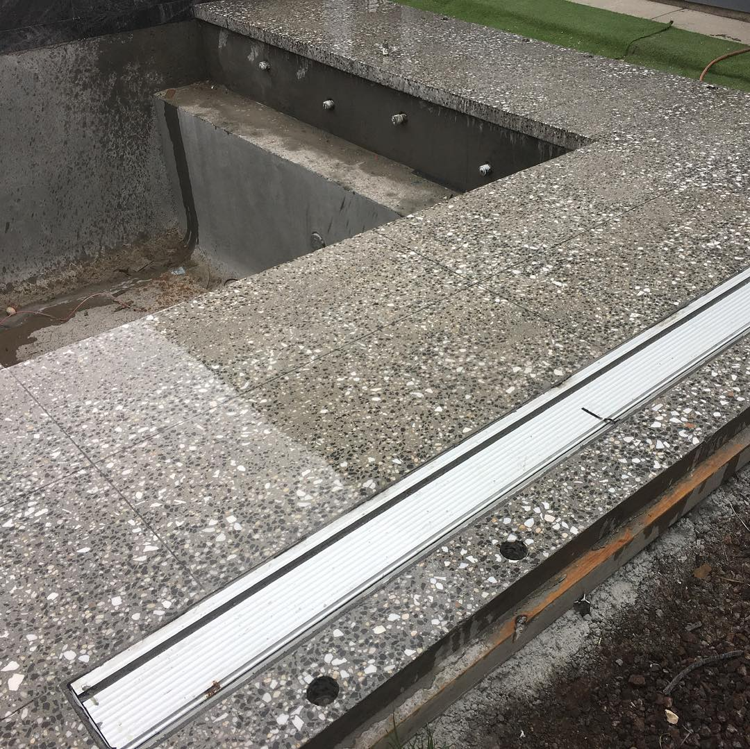 Polished Concrete Pool