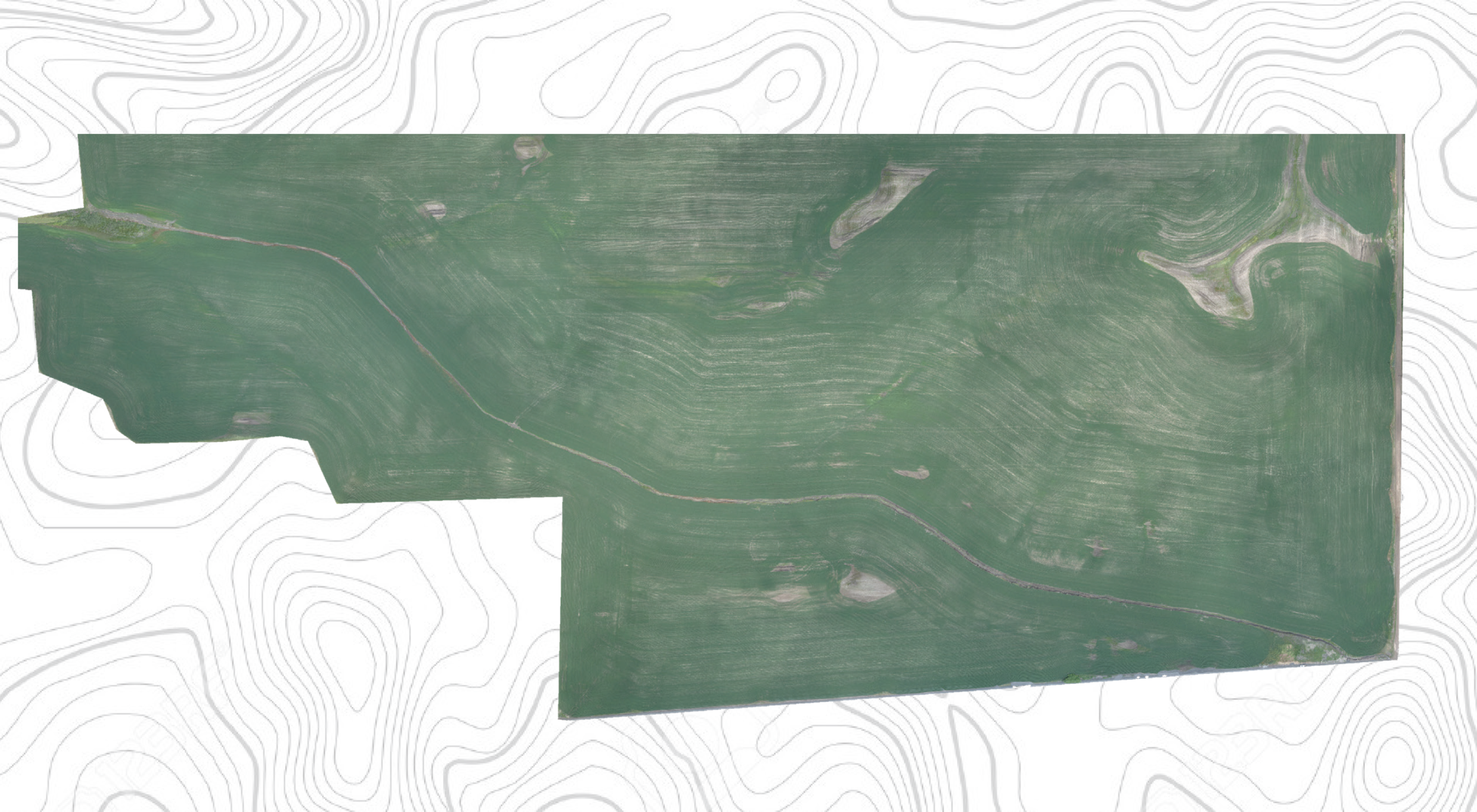 Your Farm in a Photo - This single image is stitched together from hundreds of individual images taken in succession. A larger and more detailed version of this type of image is available upon request.