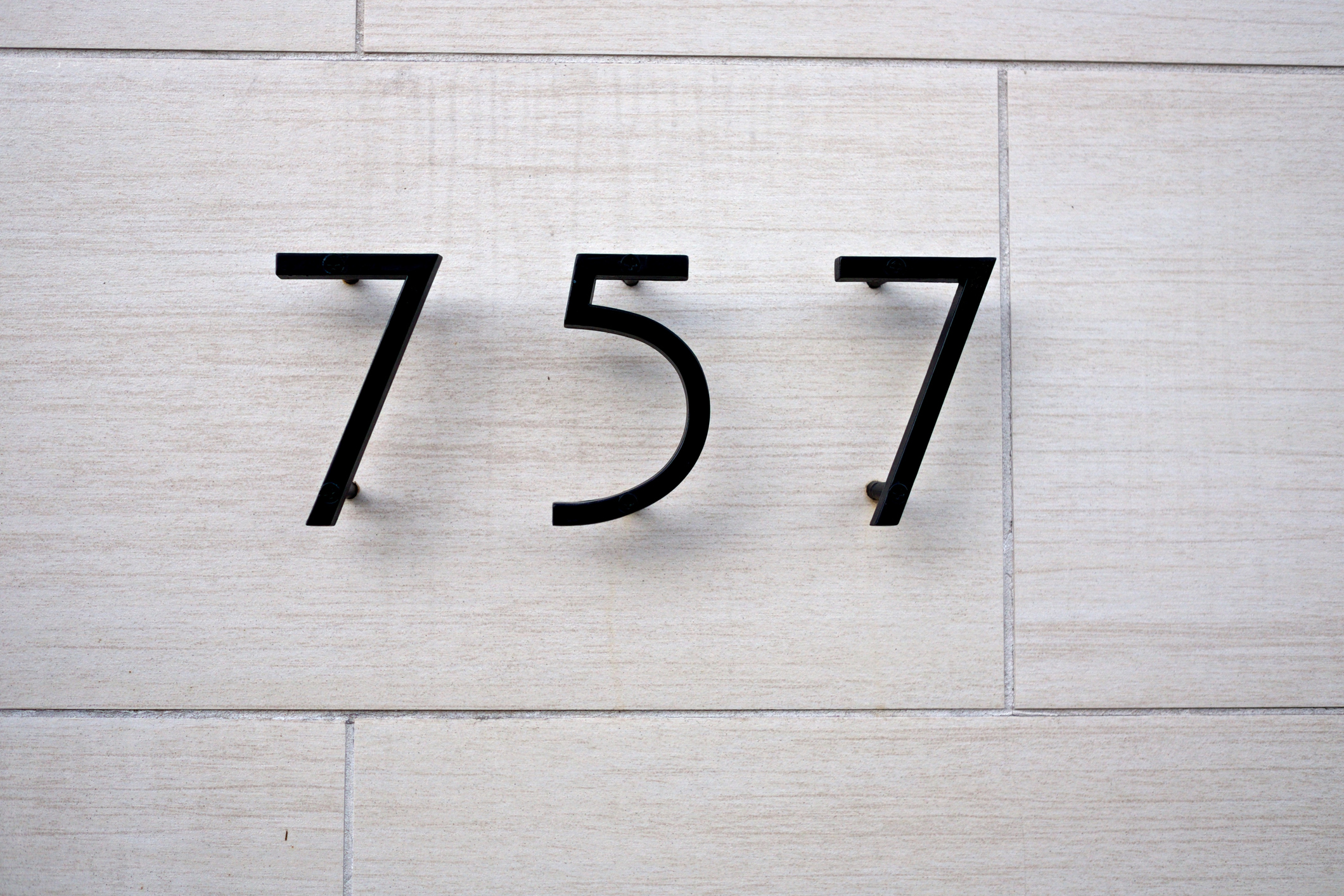 Apartment numbers - designed to Architects specs or we can design