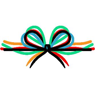 unify icon - tied ribbon