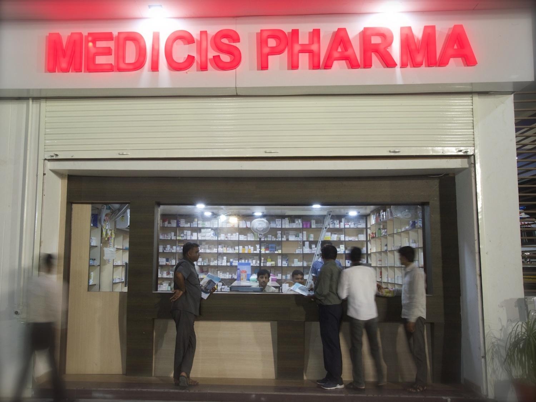 outdoor pharmacy