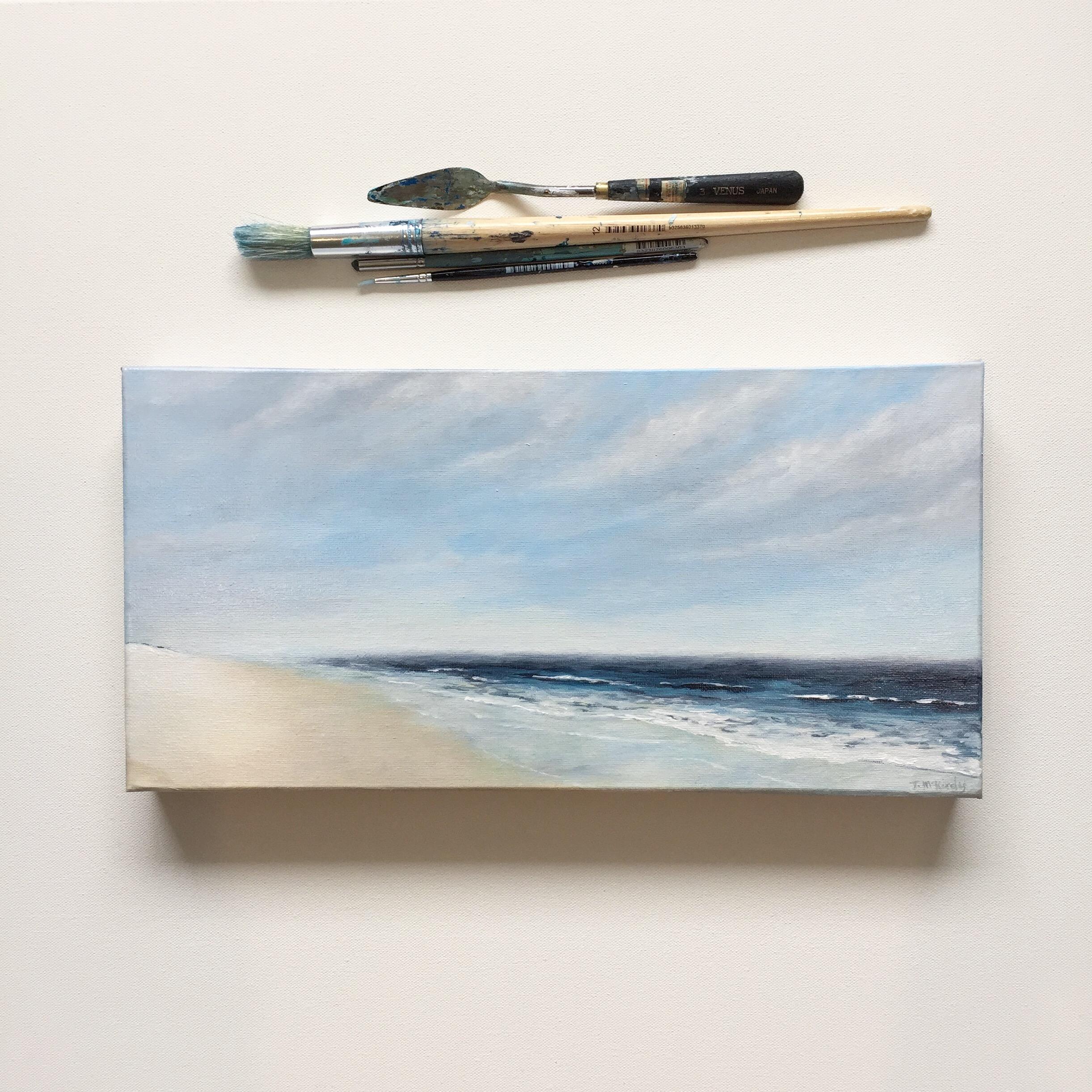 Autumn Skies - SOLDAcrylic on canvas.410 x 210mm