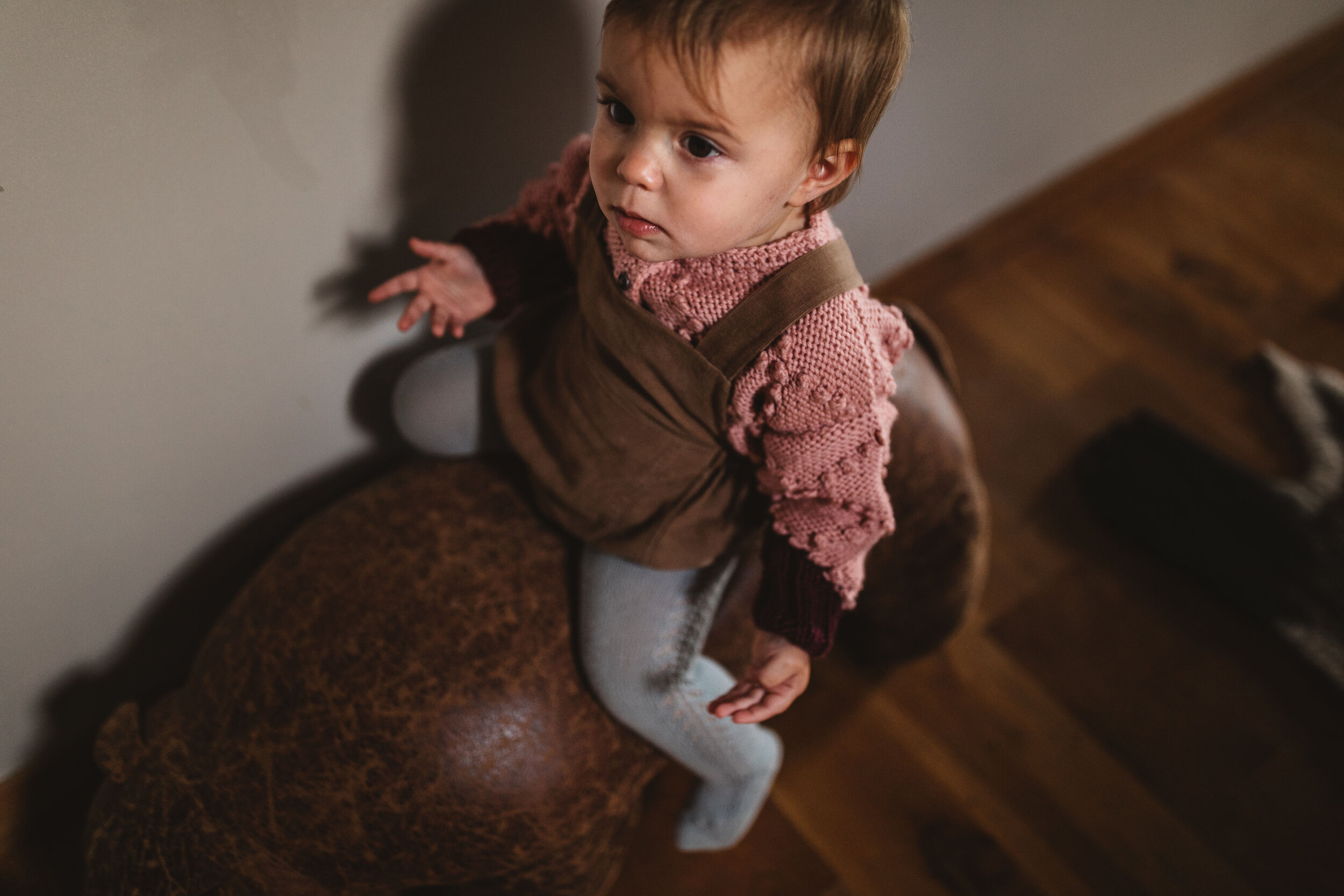 HERITAGE CARDIGAN AND CURIOUS ROMPER IN CORD