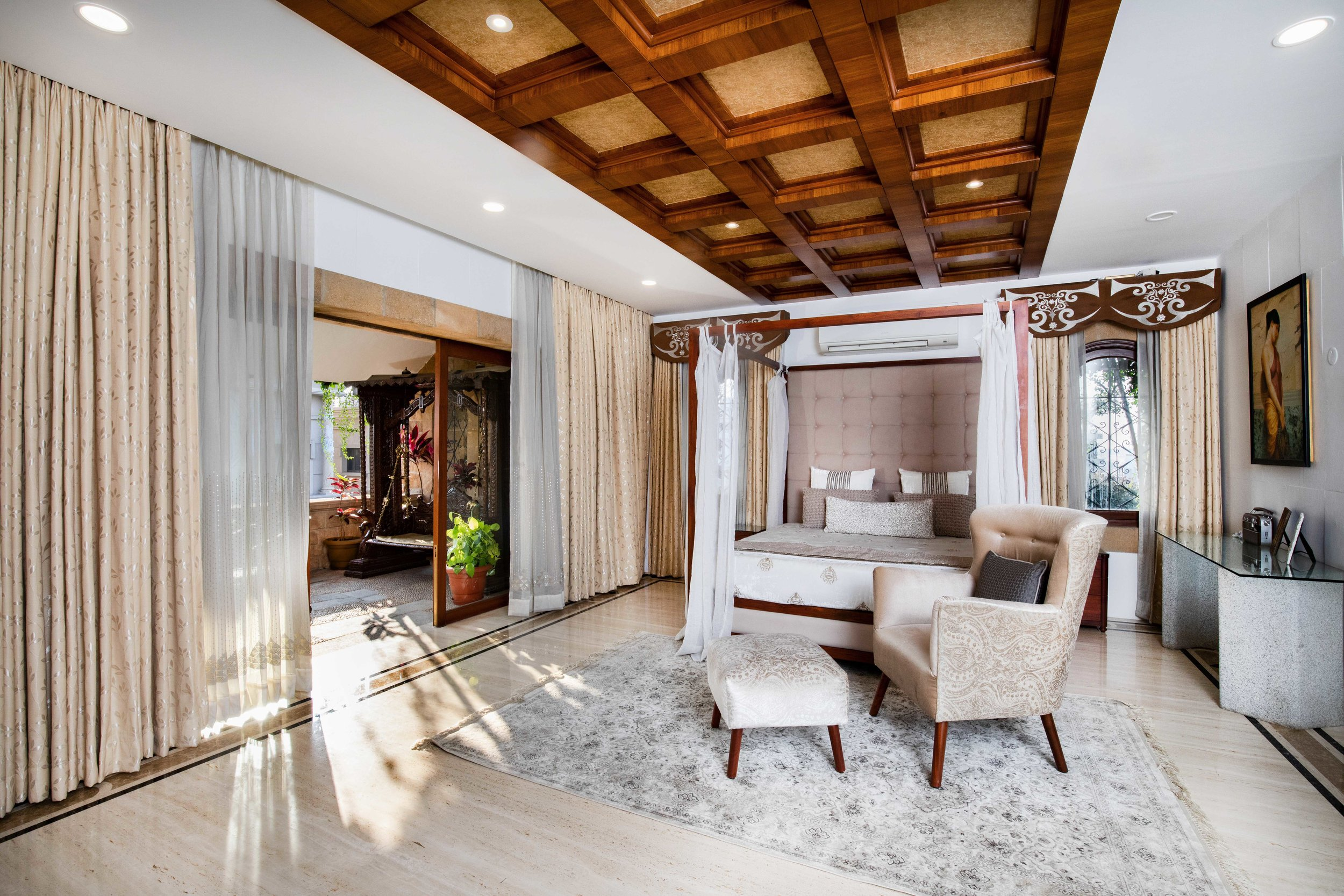Mansion Bedroom Photography