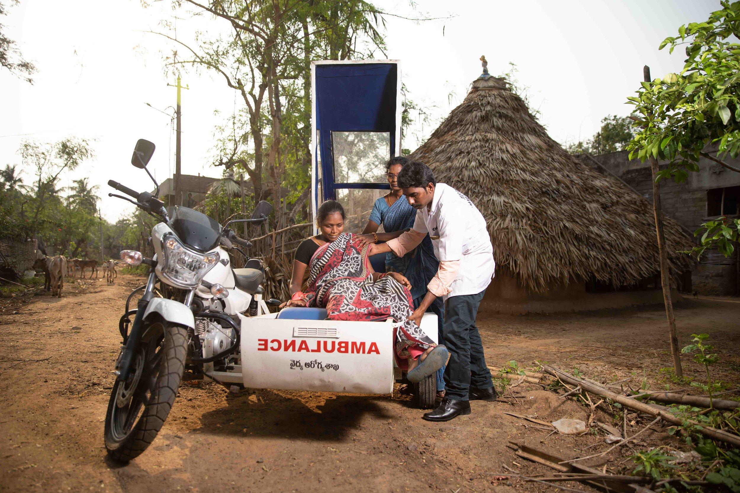 Rural India Medical Photography