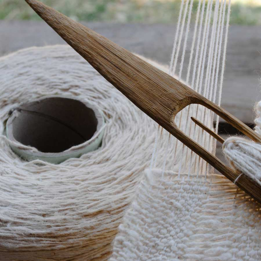 The old fashioned way - We want to reinvigorate the fascinating traditional methods from hand-spun to hand woven and hand tailored, bringing in skills and income to smaller villages in Thailand. We aim to fuel pride and economic sustainability at the villages and create a new generation of weavers.