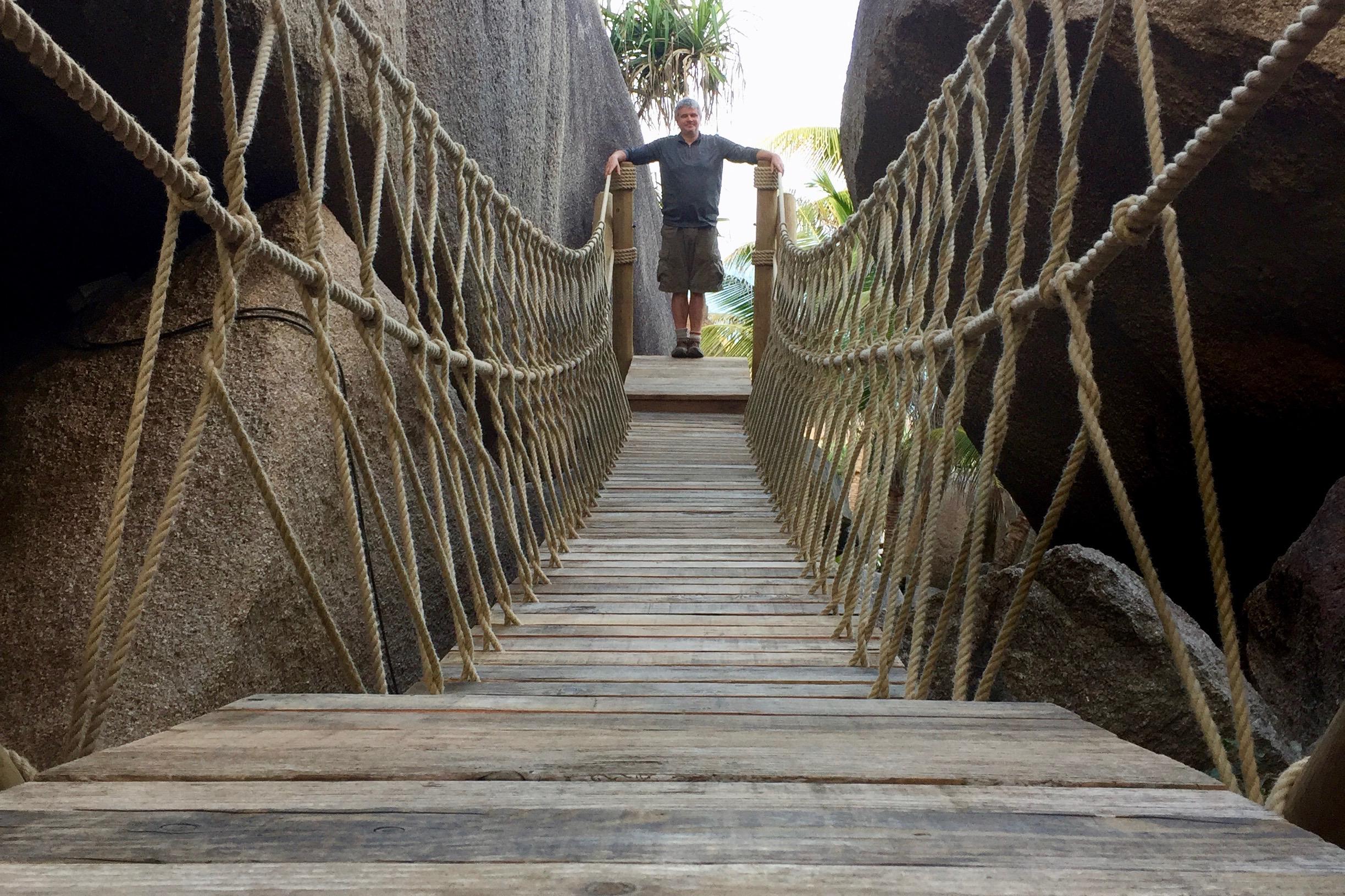 Rope Bridge created by Paul Cameron