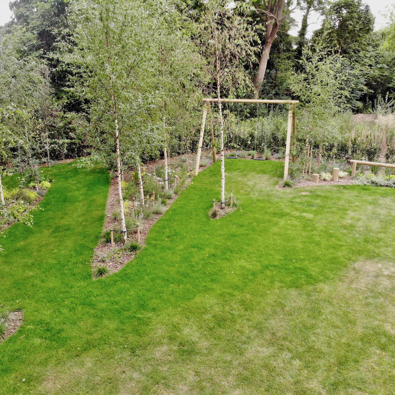 """...garden swing set"""