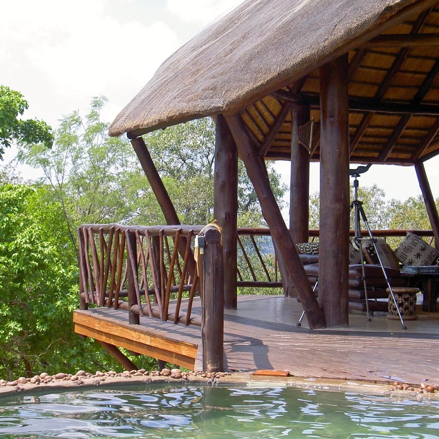 """...spa resort treehouse and pool"""