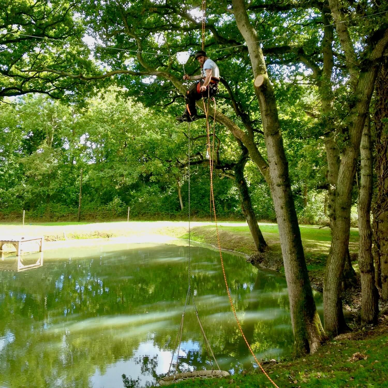 Installing a Nest Swing over a lake.jpeg