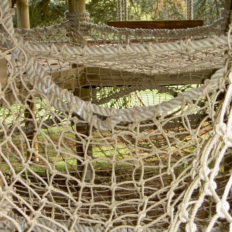 """""""...scramble net tunnel underneath treehouse"""""""