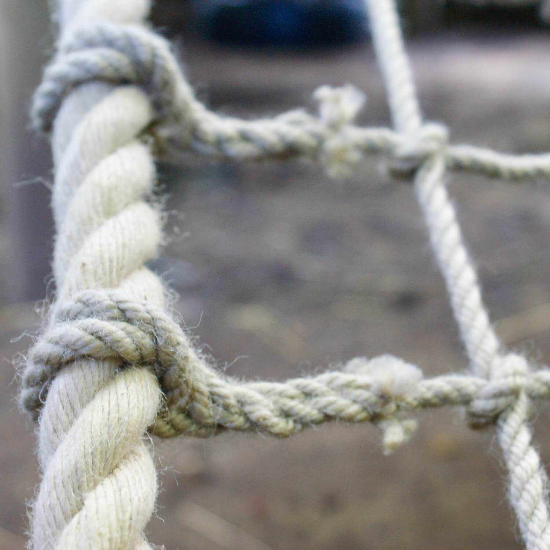 """...beautiful soft polyhemp ropes"""