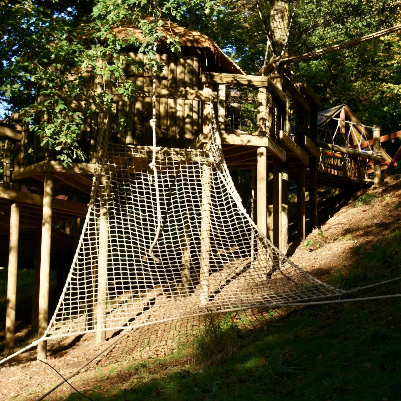 """""""...large treehouse cargo net"""""""