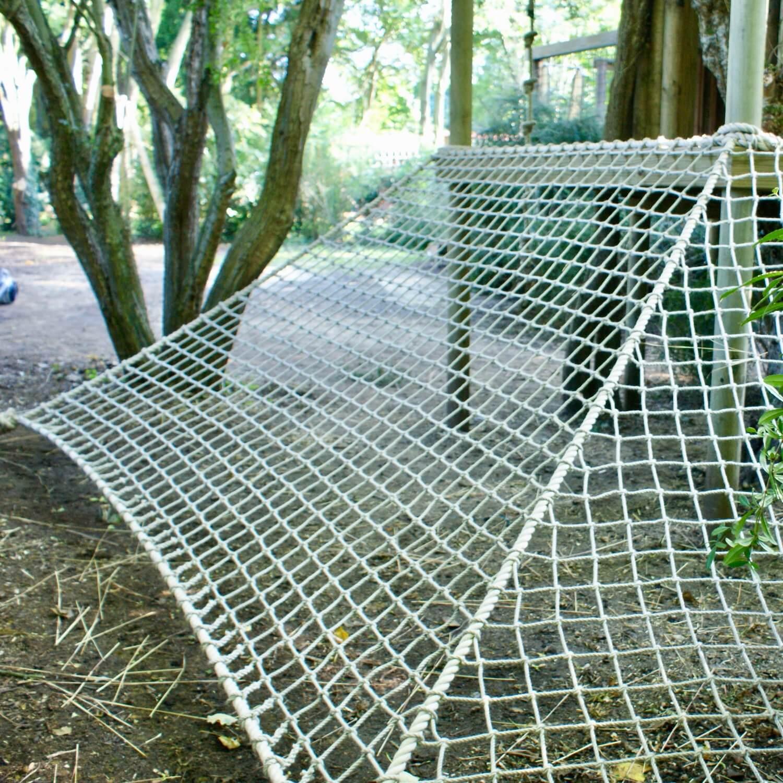 """...treehouse deck scramble net"""