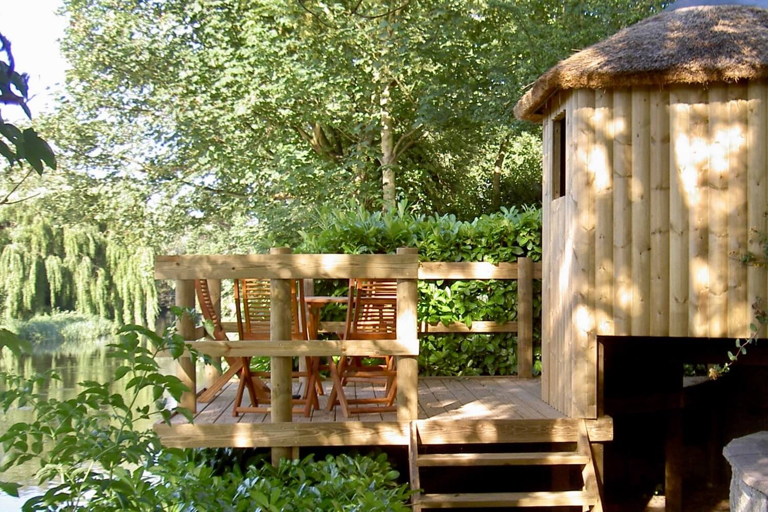'Living' tree house