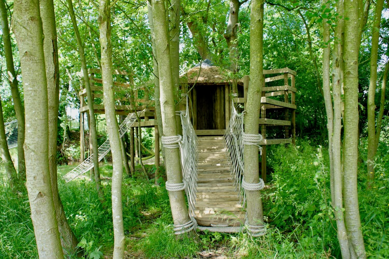 'Fun' treehouses