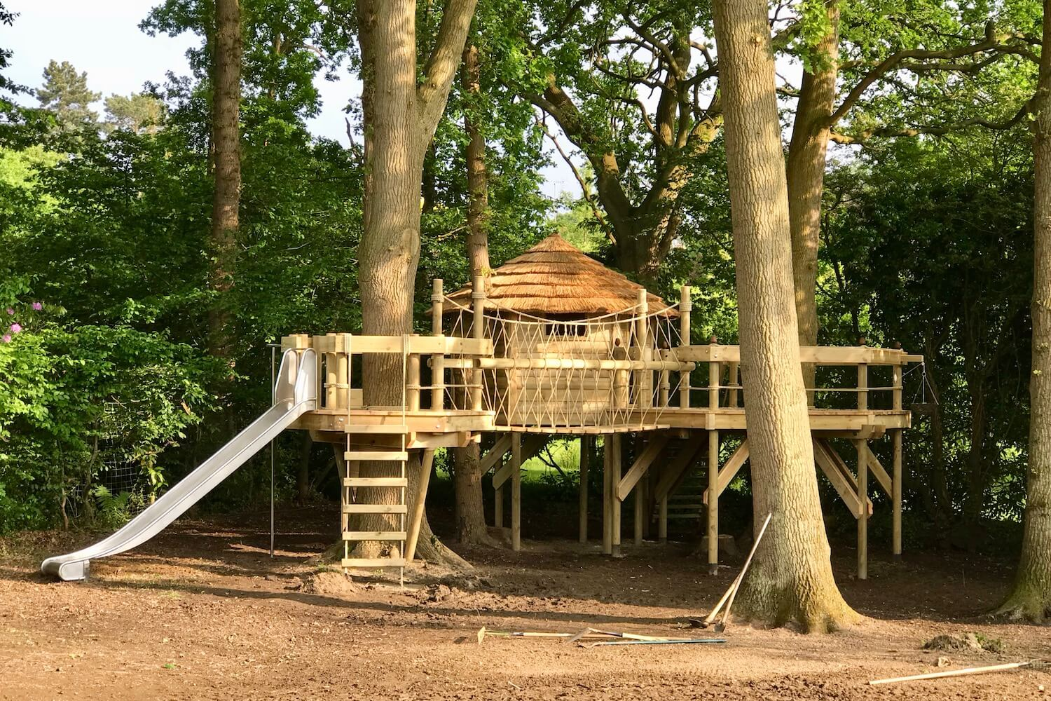 'School' tree houses