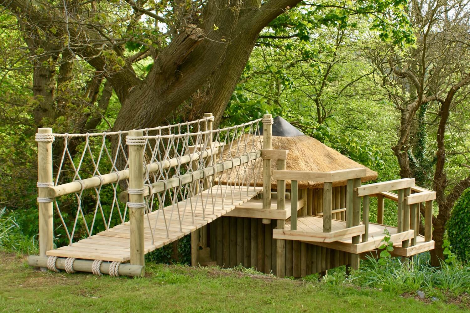 'Self-build' tree houses