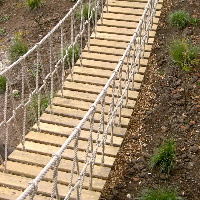 """...rope bridge for landscape designer"""