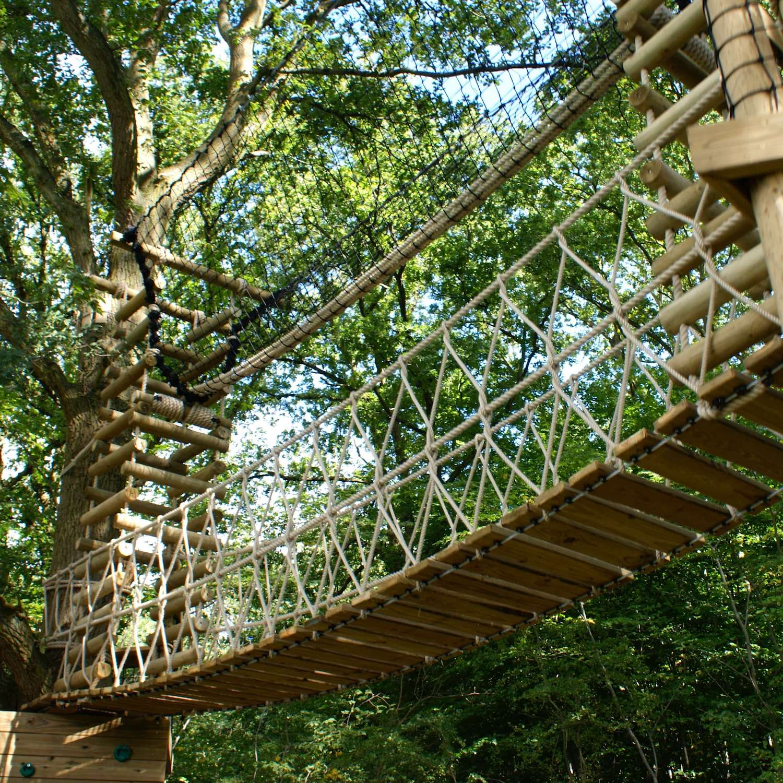 """...garden rope bridge and hammock bridge"""