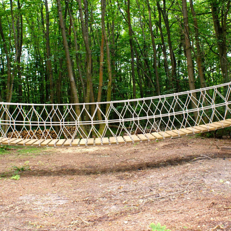 """""""...woodland rope bridge"""""""
