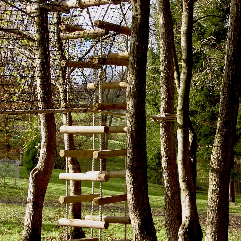 Big Chunky 4-sided Rope Ladder