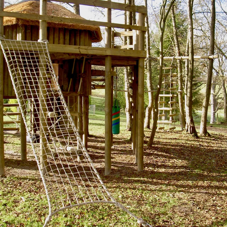 Treehouse Scramble Cargo Net