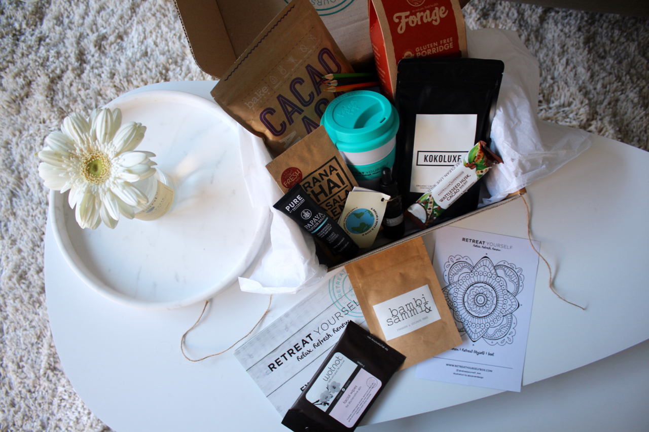 Loving Lately - 31.07.16 Retreat Yourself Box