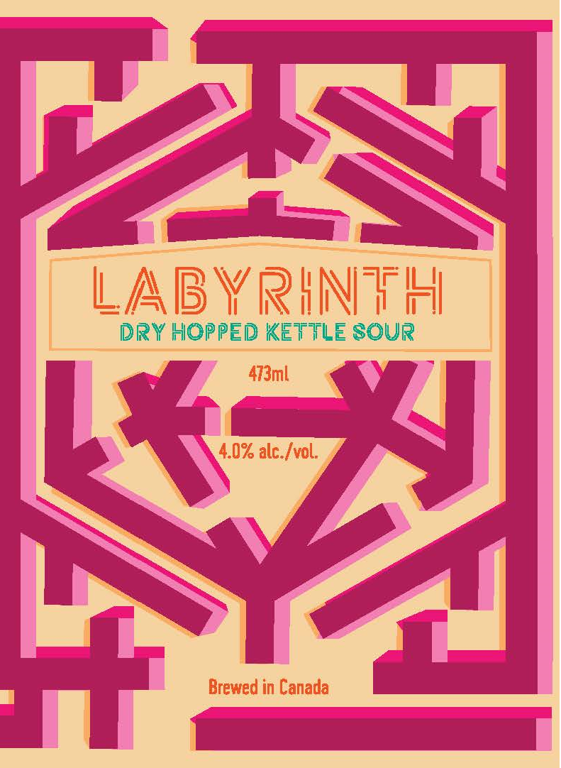 Labyrinth - Dry Hopped Kettle Sour, 4.0% abv