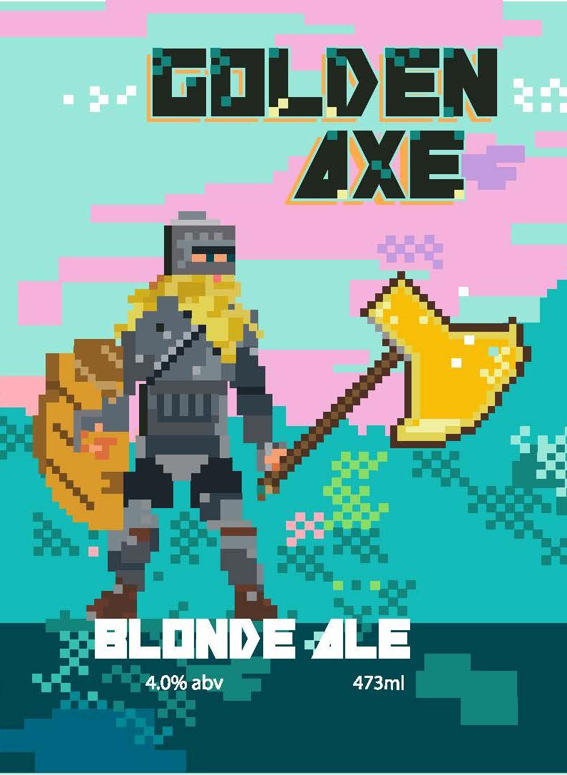 Golden Axe - Blonde Ale, 4.0% abv