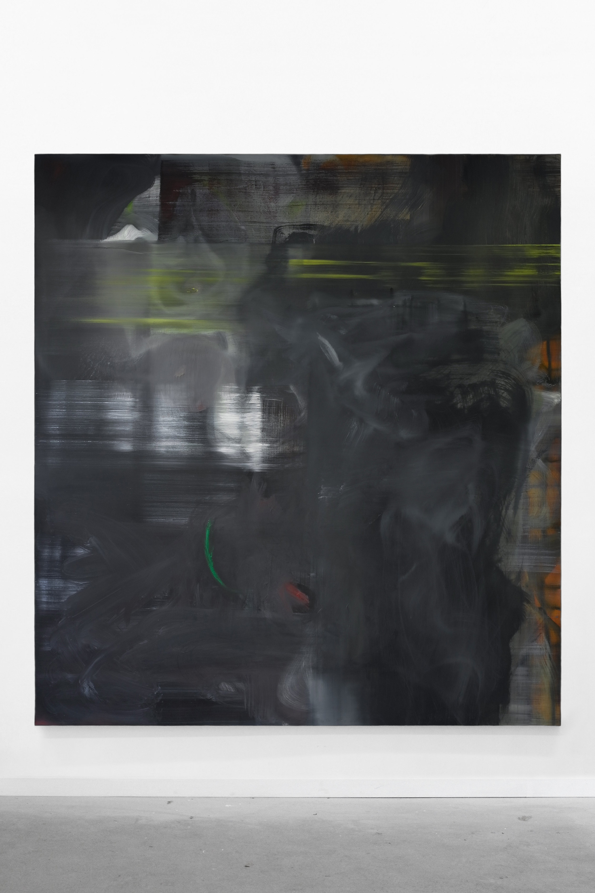 S. Derviz, Dancers II, oil on canvas, 220 x 200cm, 2018
