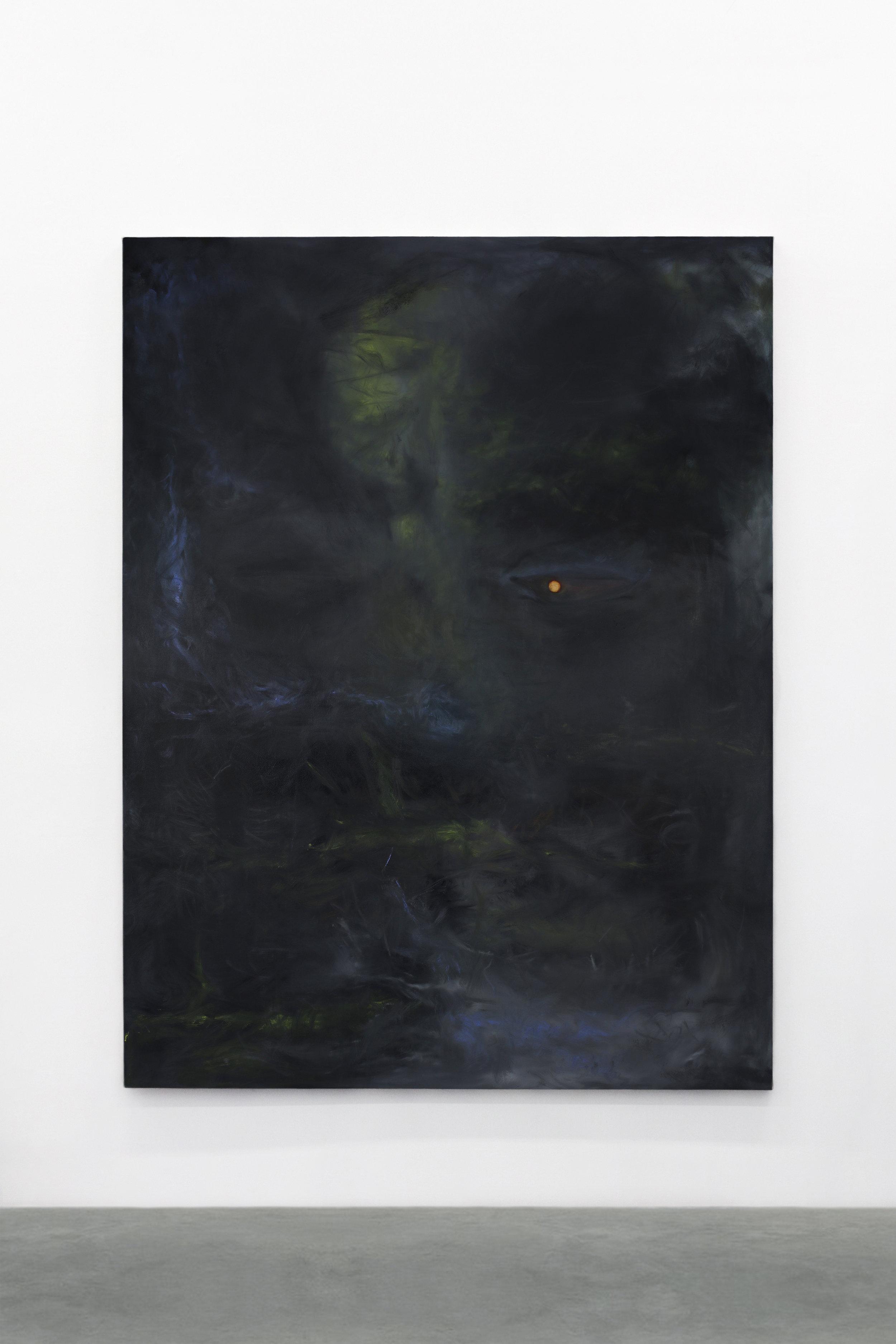 S. Derviz, Unititled, oil on canvas, 200x160cm, 2018
