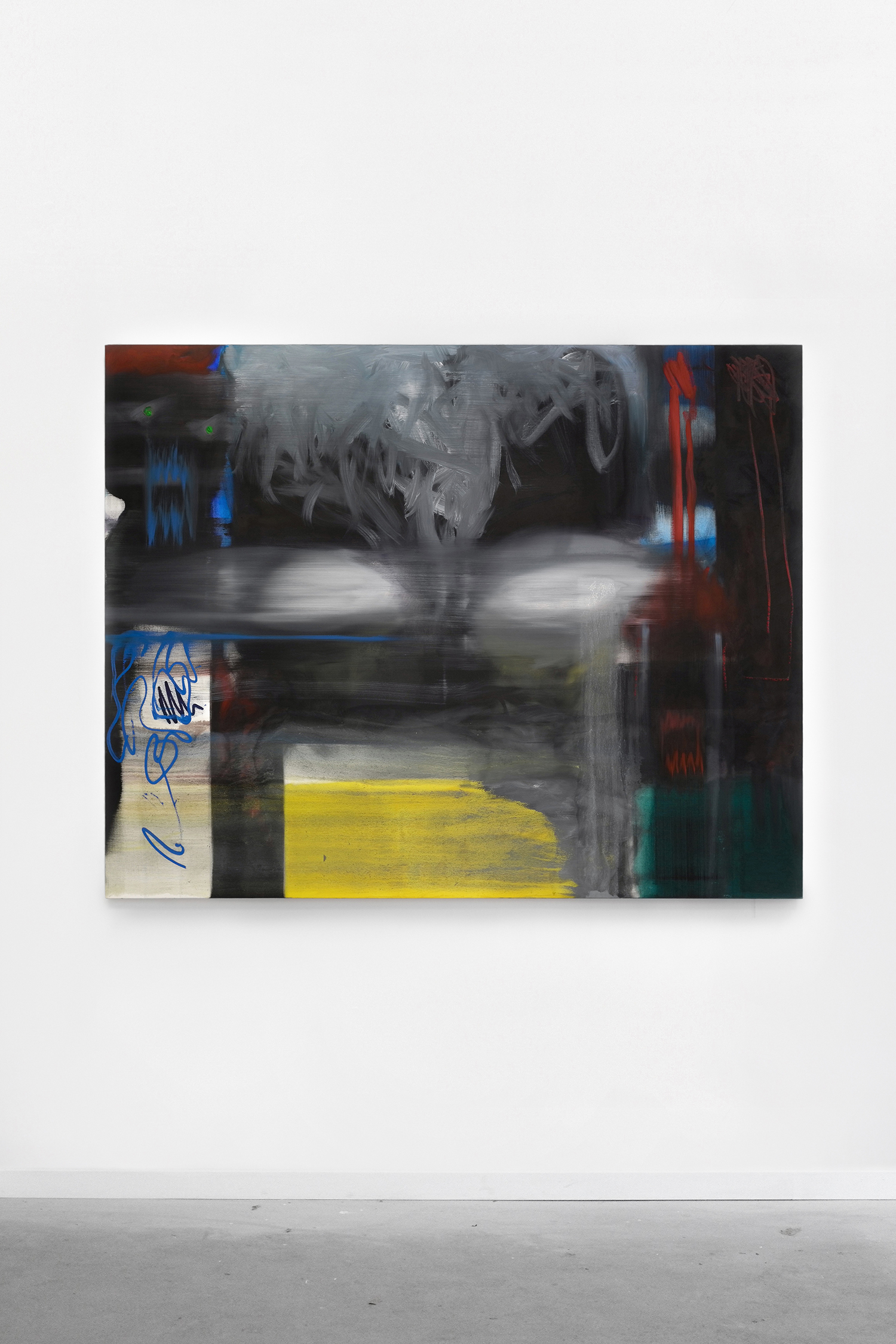 S. Derviz, Dancers I, oil on canvas, 170 x 120cm, 2018