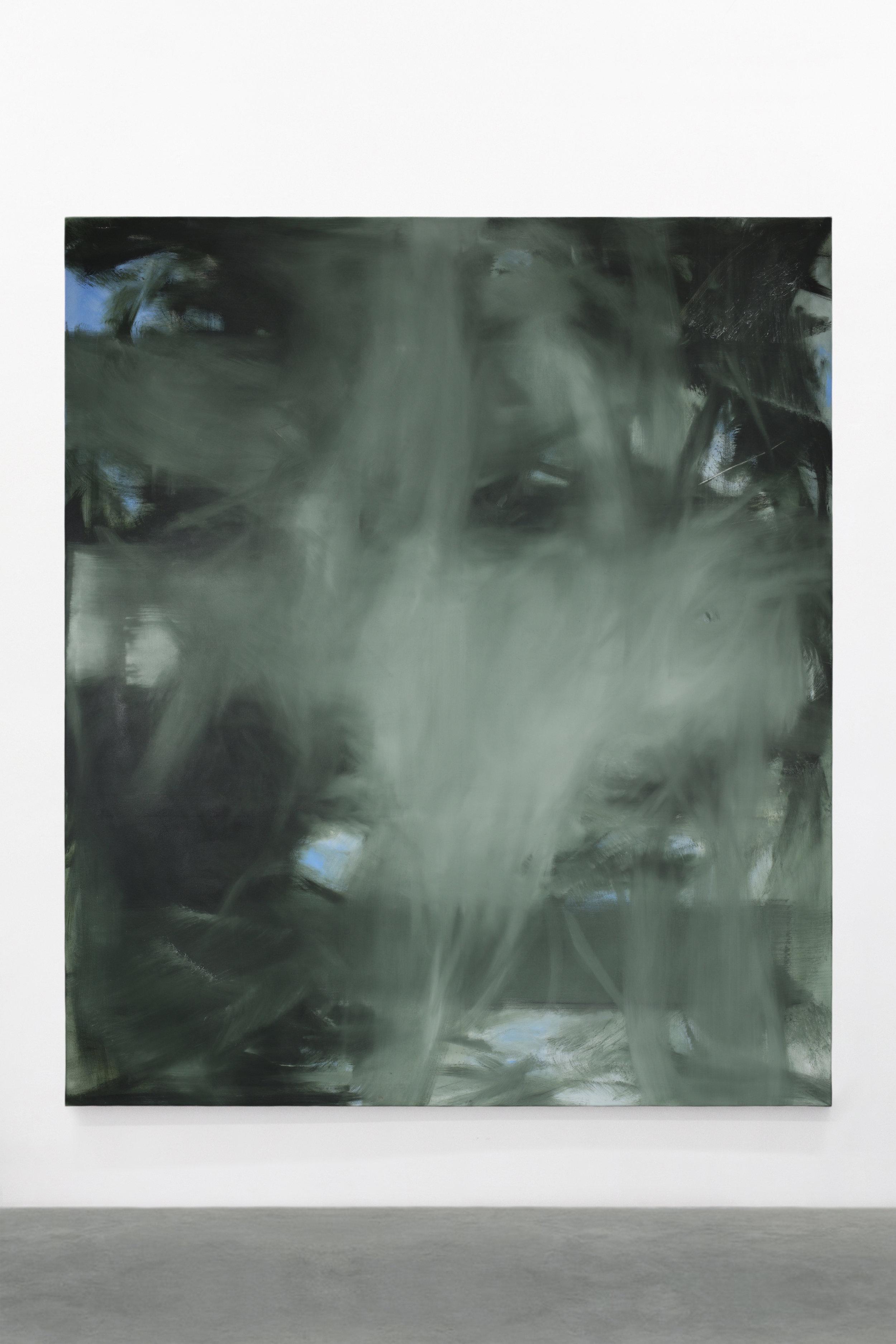 S. Derviz, Unititled, oil on canvas, 220x190cm, 2018